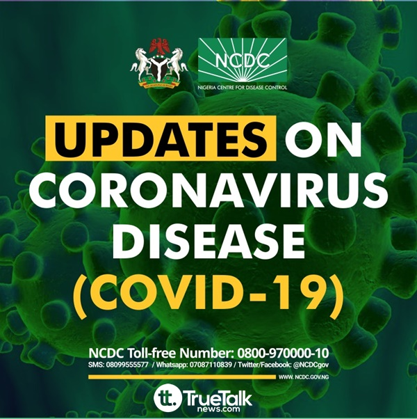 NCDC confirms 49 new cases of COVID-19