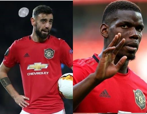 Pogba and Fernandes