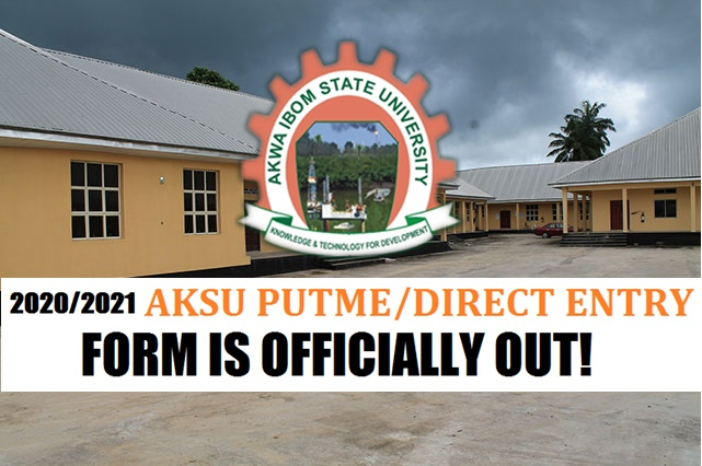 AKSU Admission form 2020