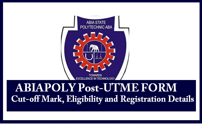 ABIAPOLY Post-UTME FORM 2020