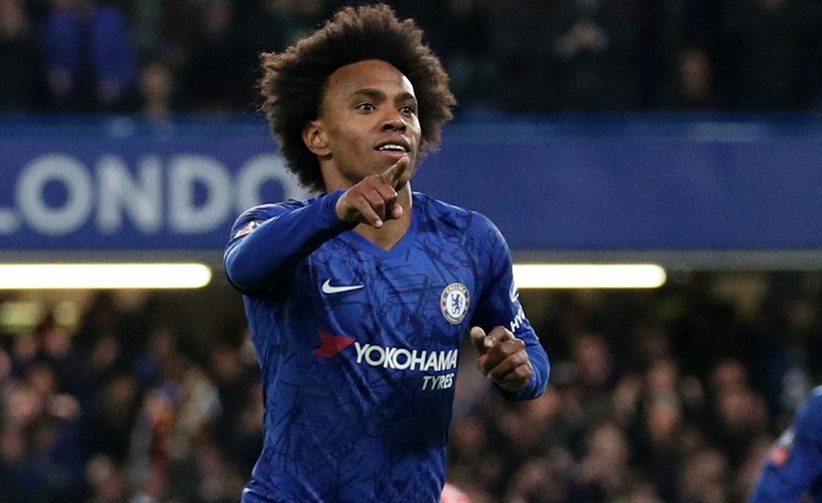 Willian three-year contract offer