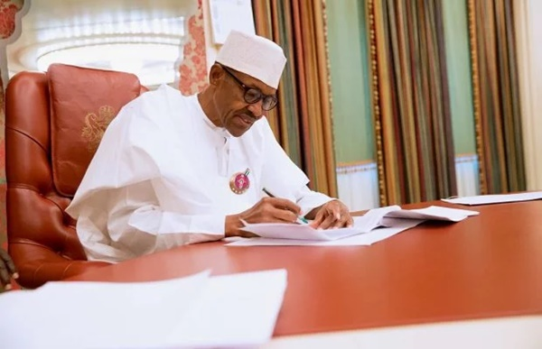 President Buhari signed Agreement