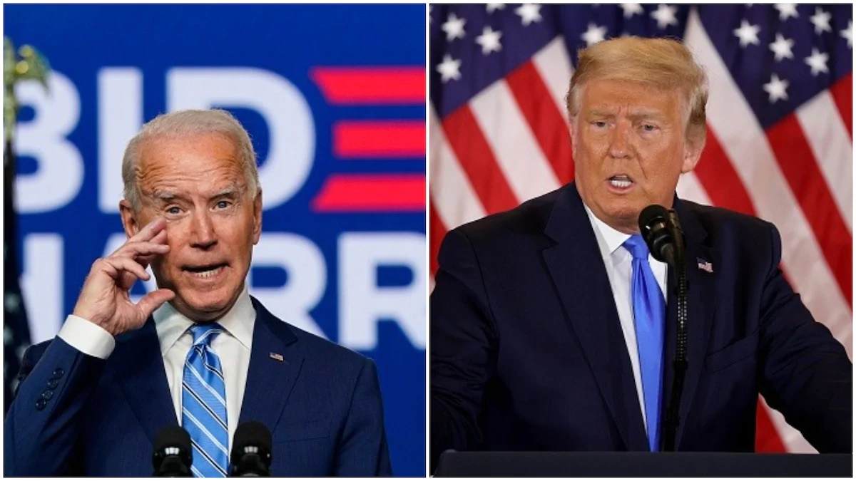 Full list of States Trump and Biden have won