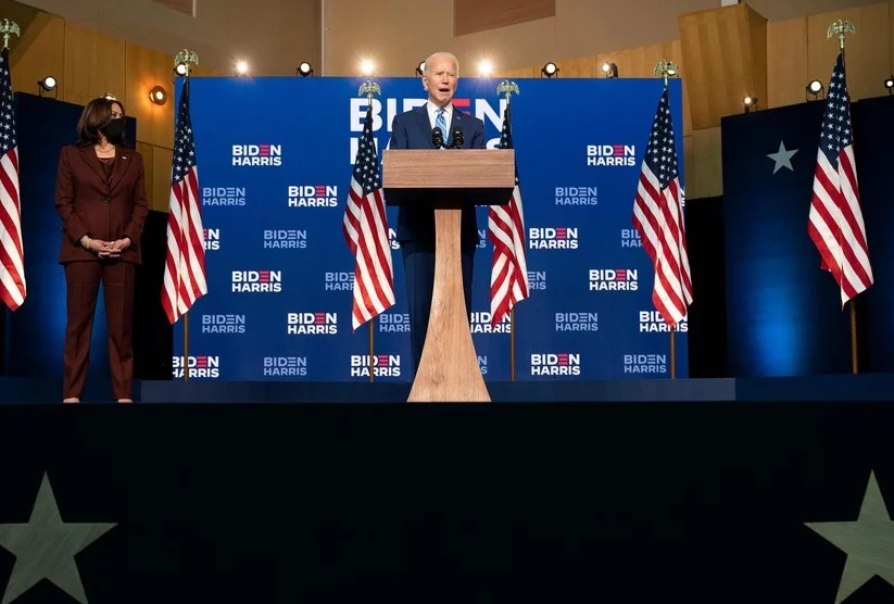 Jeo Biden declares winner of US Election