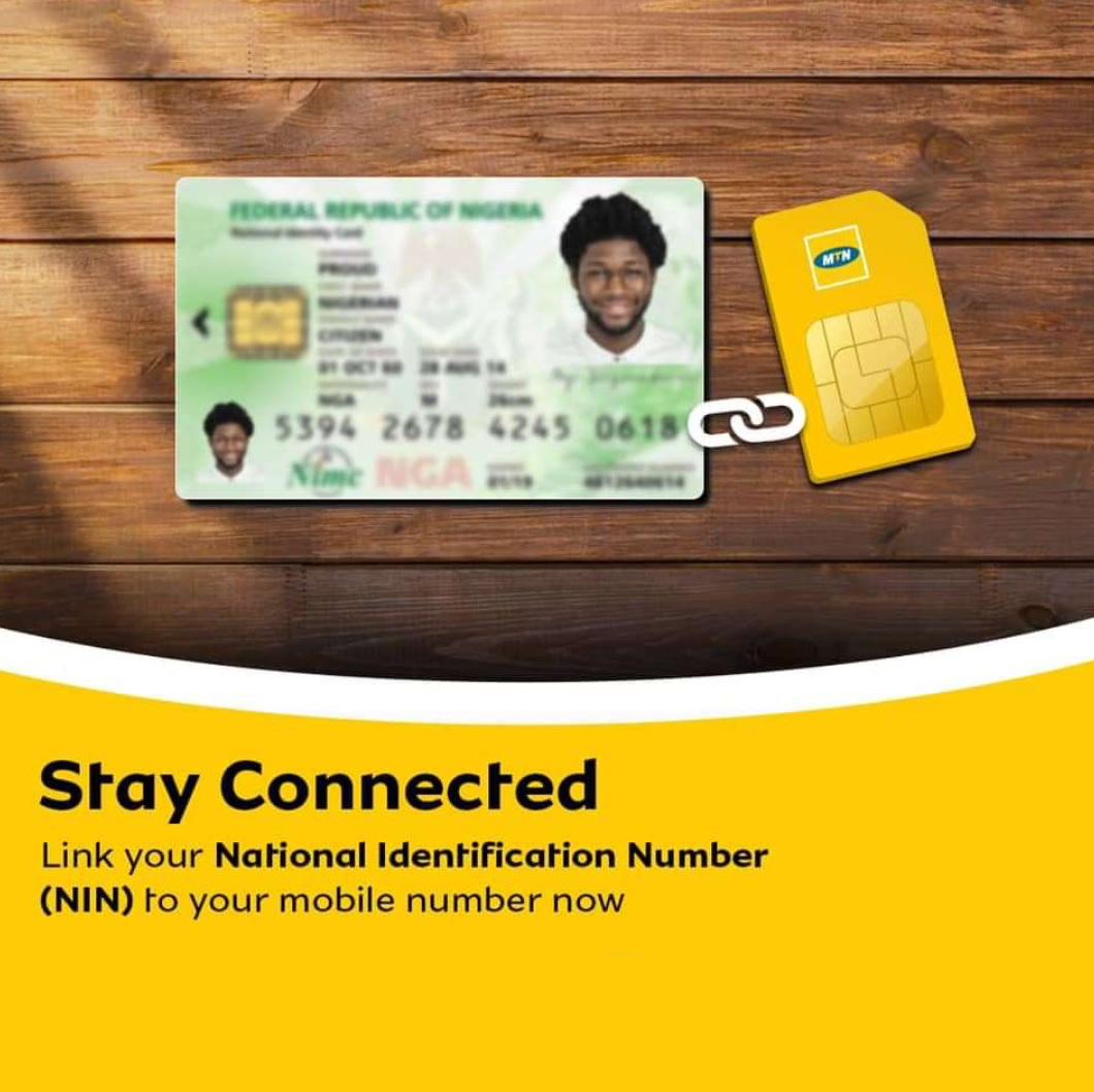 How to link NIN Number to mtn sim