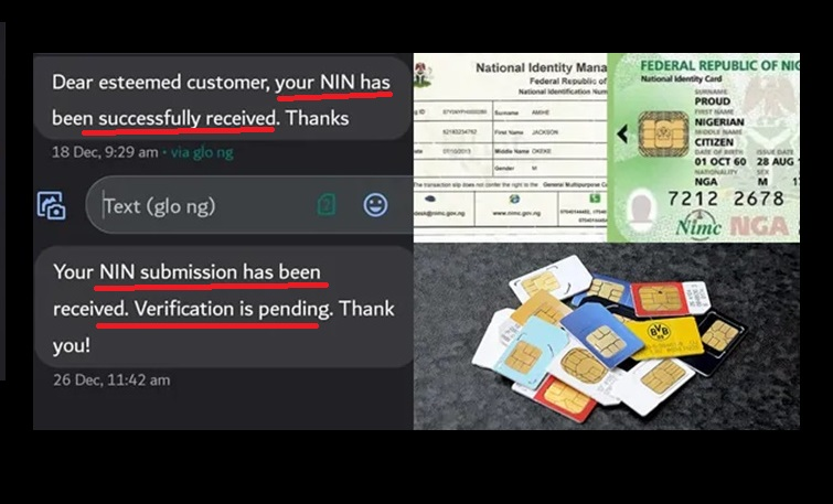 ways to know if your ID number is successfully linked with SIM