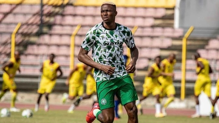 Victor Osimhen scored Lesotho