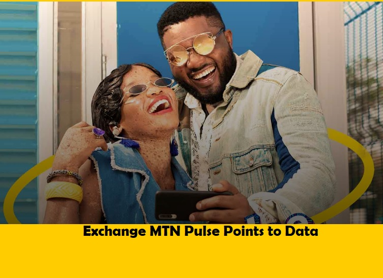 How to Exchange MTN Pulse point to Data