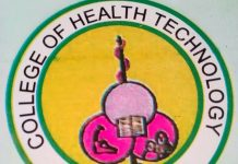 College of Health Technology Etinan admission form