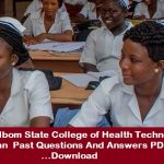 College of Health Technology Etinan Past Questions