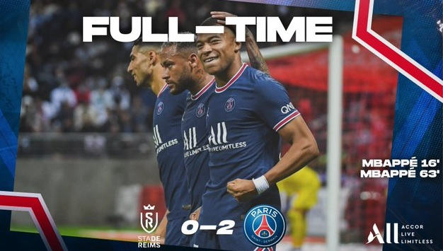 PSG win as Mbappe scores a brace, Messi makes his debut