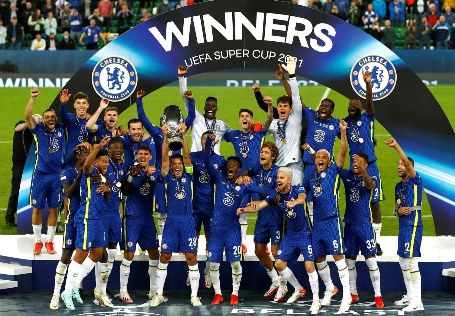 super cup prize money for Chelsea
