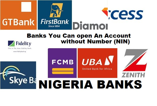 banks to open account without NIN number