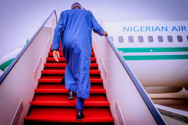 Buhari in United Nations General Assembly