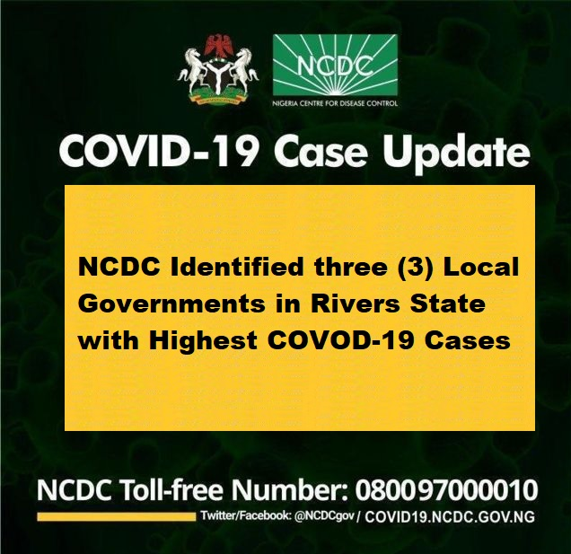 local governments with highest coronavirus in rivers state